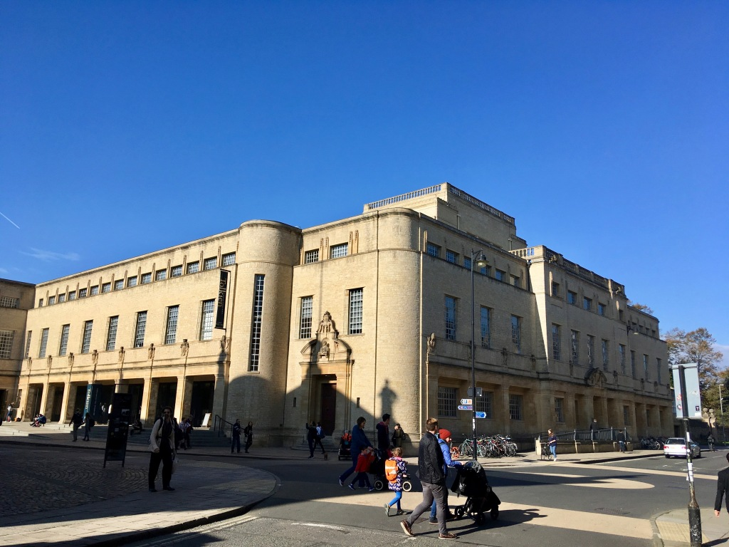 Weston librarty, den nya delen av Bodleian