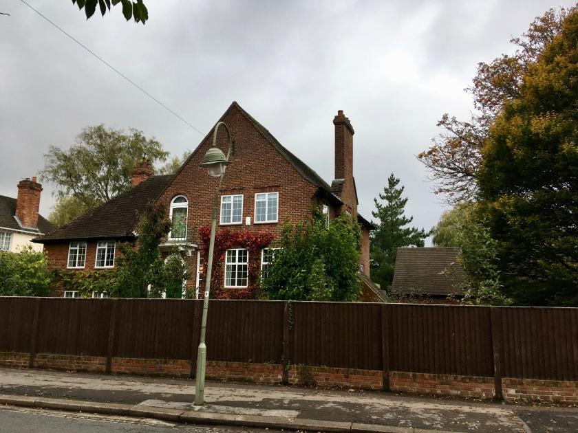 Här bodde Collingwood med familj!